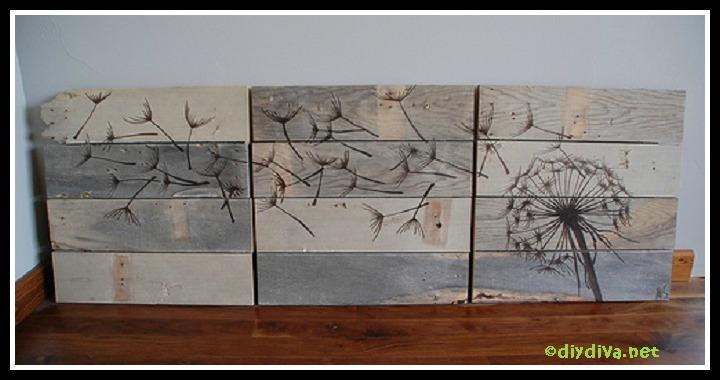 DIY Rustic Wood Wall Art Tutorial