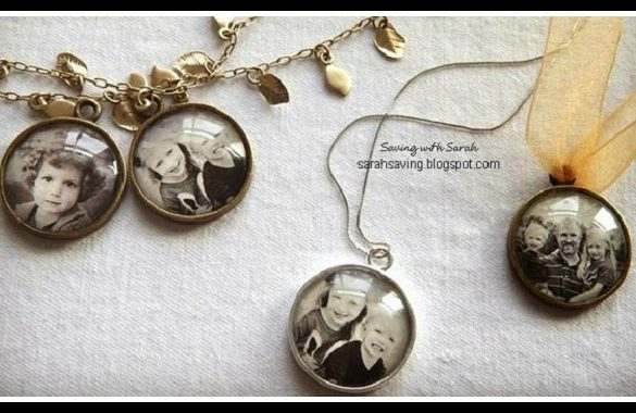 DIY Photo Pendant