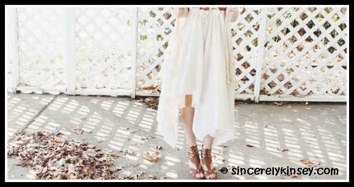 No Sew Skirt