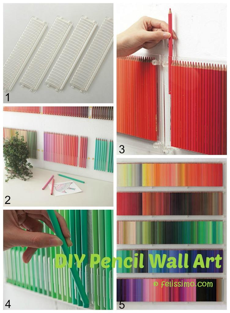 Pencil Wall Art