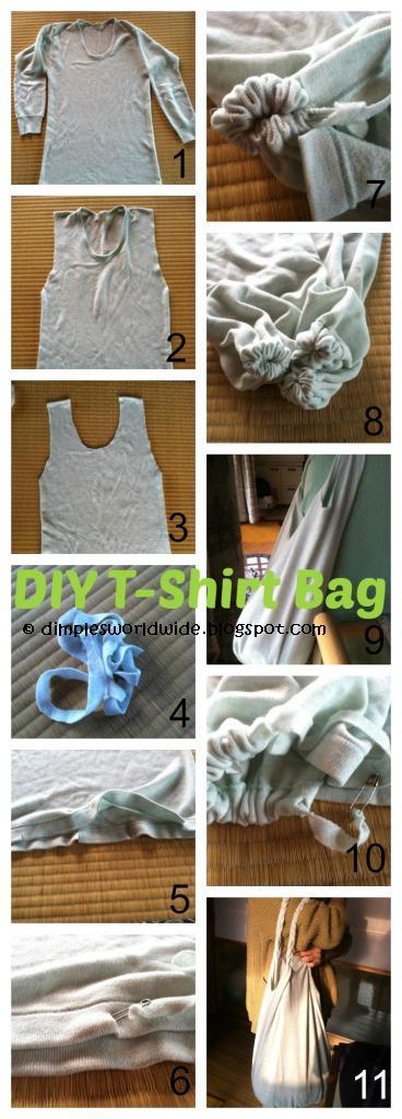 DIY T-shirt Bag