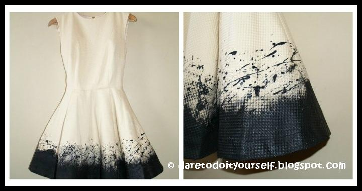 DIY Painted Dress