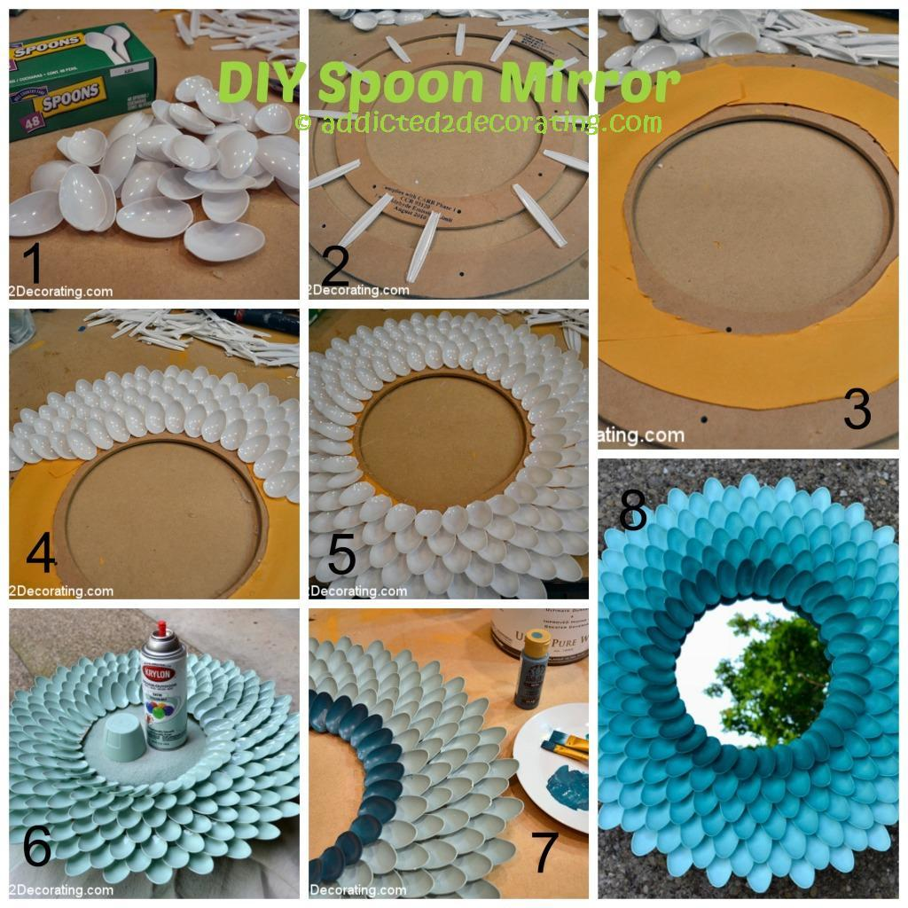 Chrysanthemum Spoon Mirror
