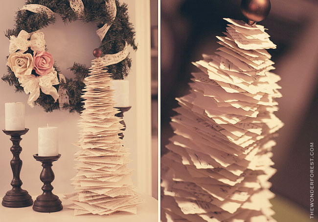 Paper Christmas Tree DIY Tutorial