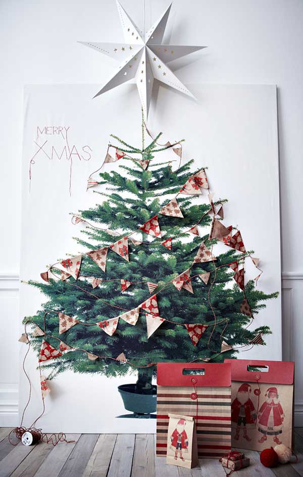 Printed Christmas Tree DIY Tutorial