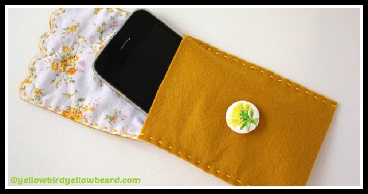 Felt Phone Case DIY Tutorial
