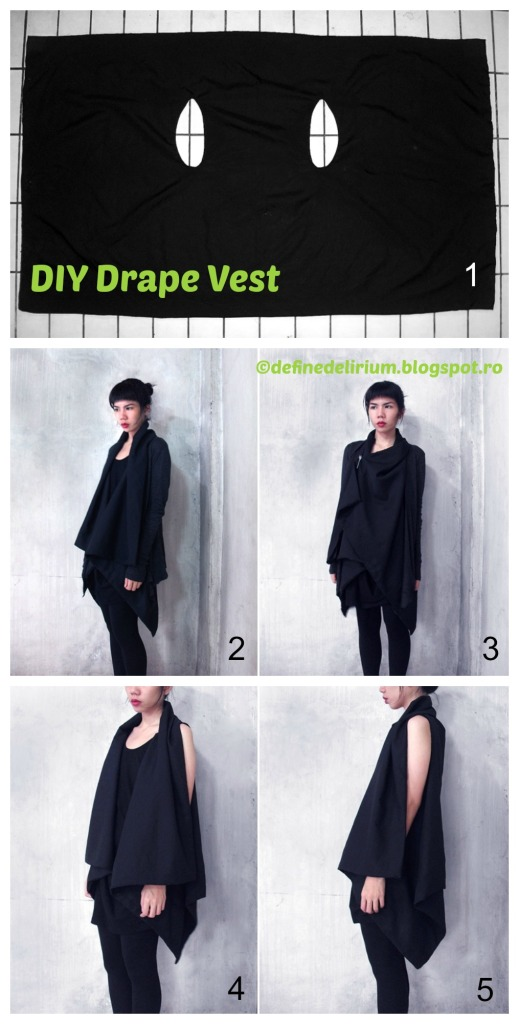How to make a Drape Vest