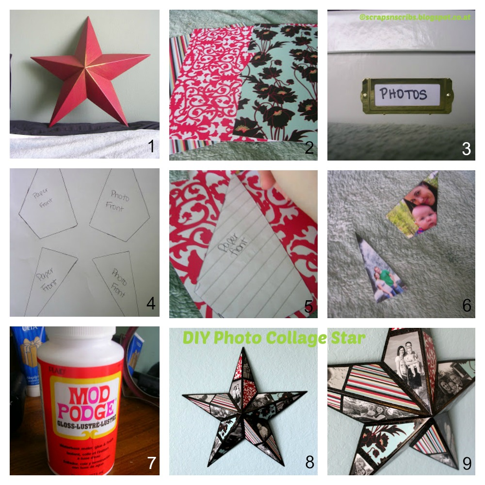 How to make a Photo Collage Star