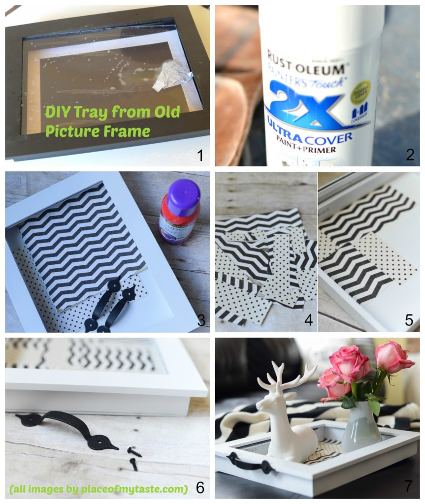 How to make a Tray from Old Picture Frame