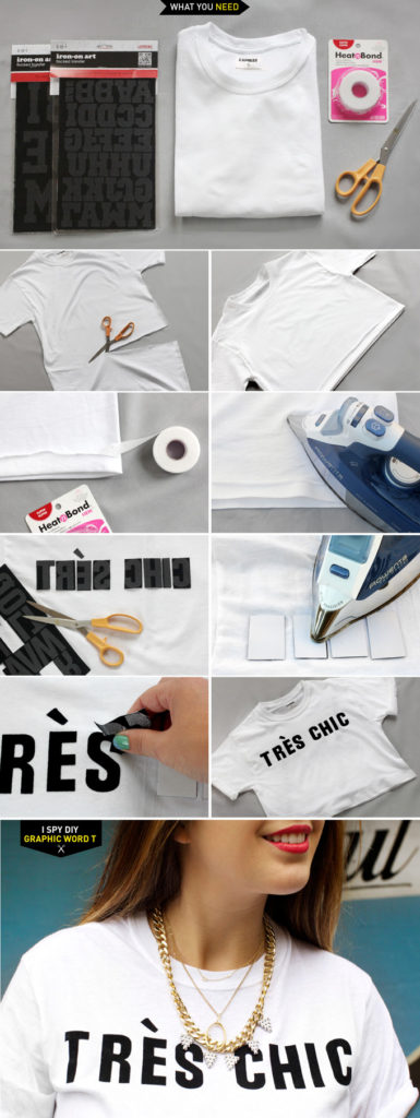 Word T-Shirt DIY Tutorial