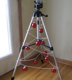 Tripod Christmas Tree DIY Tutorial