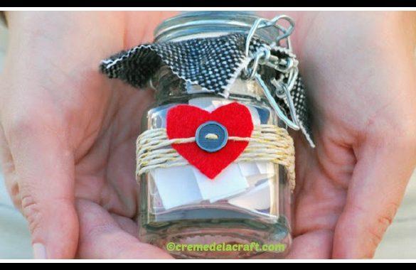 DIY Valentine Love Jar Tutorial