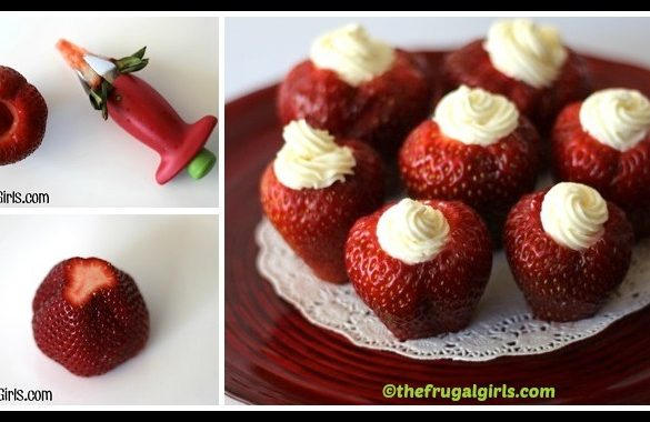 DIY Valentine Strawberries Tutorial