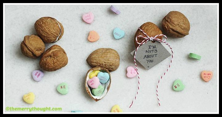 DIY Walnut Valentine Tutorial