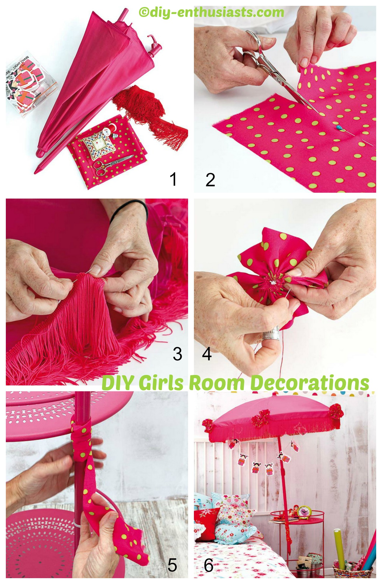 Girls room decorations diy home tutorials for The make room