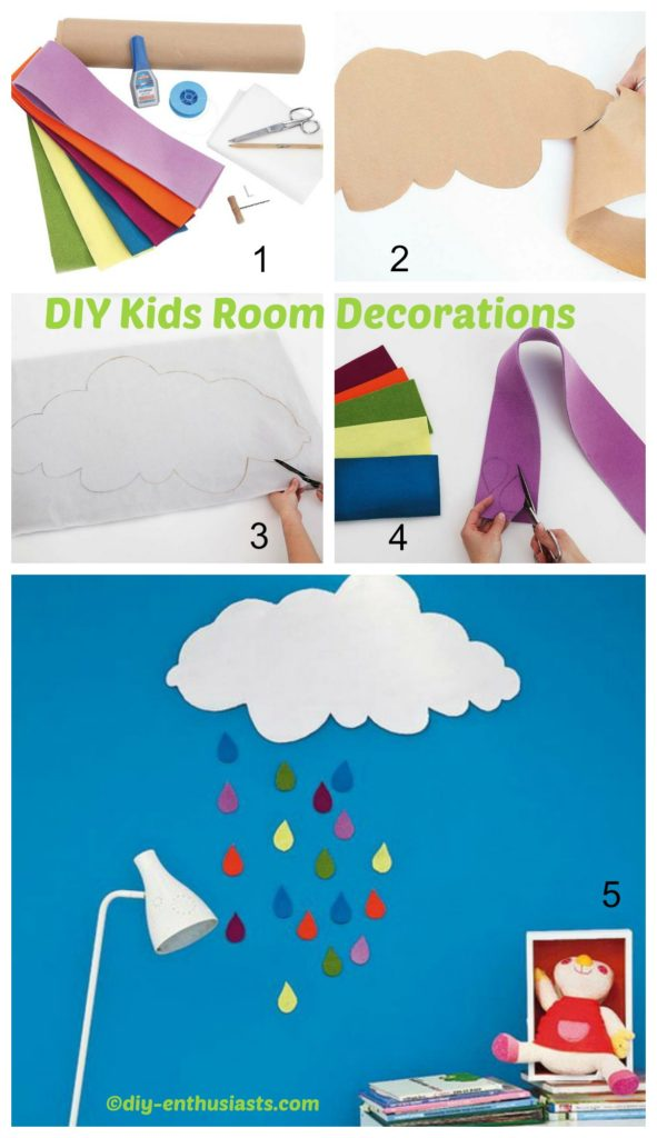 How to make Kids Room Decorations