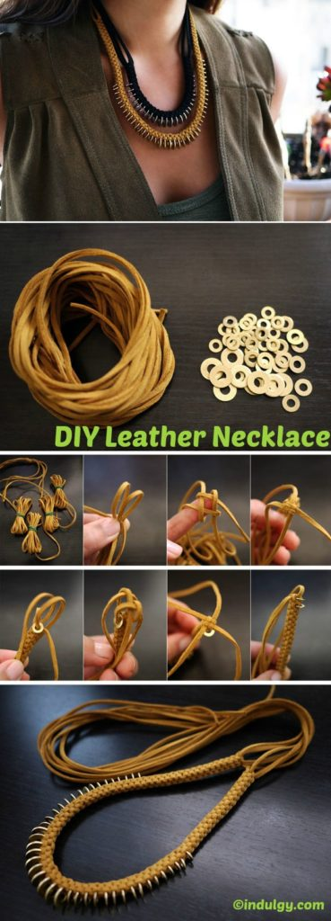 How to make a Leather Necklace