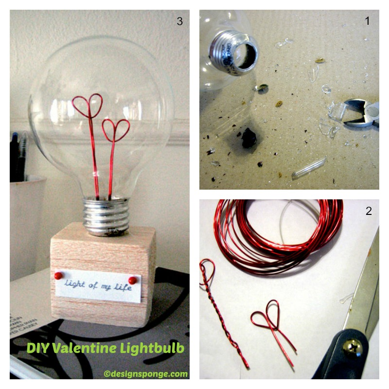 How to make a Valentine LightBulb