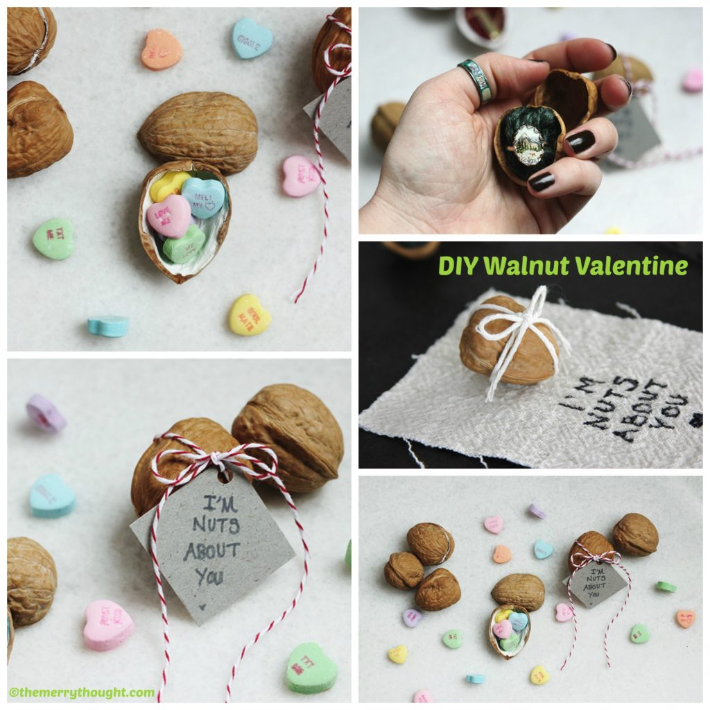 How to make a Walnut Valentine