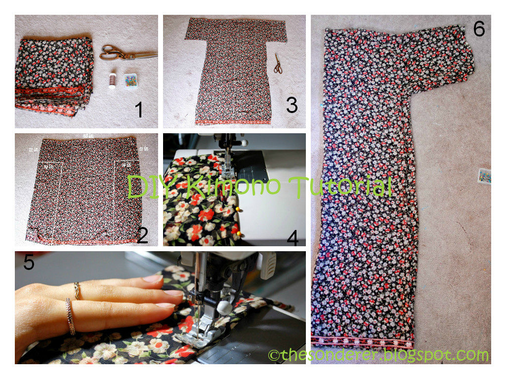 DIY Kimono Tutorial