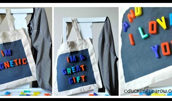 Magnetic Tote Bag DIY Tutorial