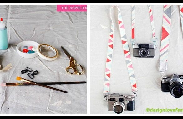 DIY Camera Strap Tutorial