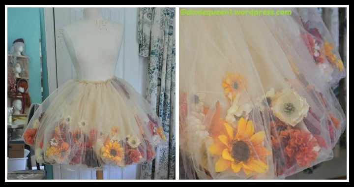 DIY Flower Fairy Skirt Tutorial