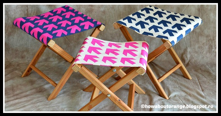 DIY Folding Camp Stool Tutorial