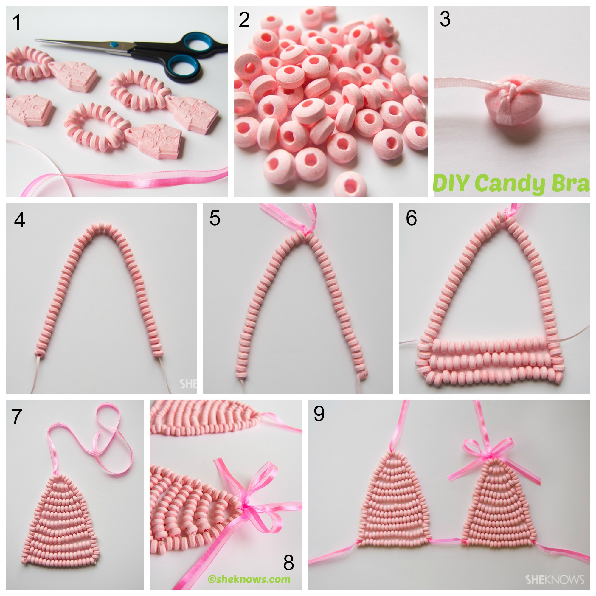 How to make a Candy Bra