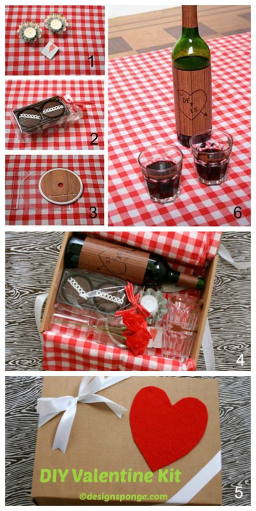 How to make a Valentine Kit