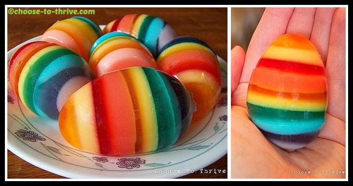 DIY Rainbow Easter Eggs Tutorial