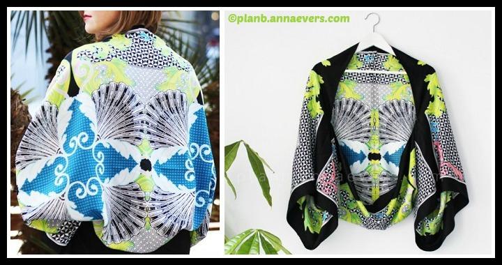DIY Scarf Kimono Cape Tutorial