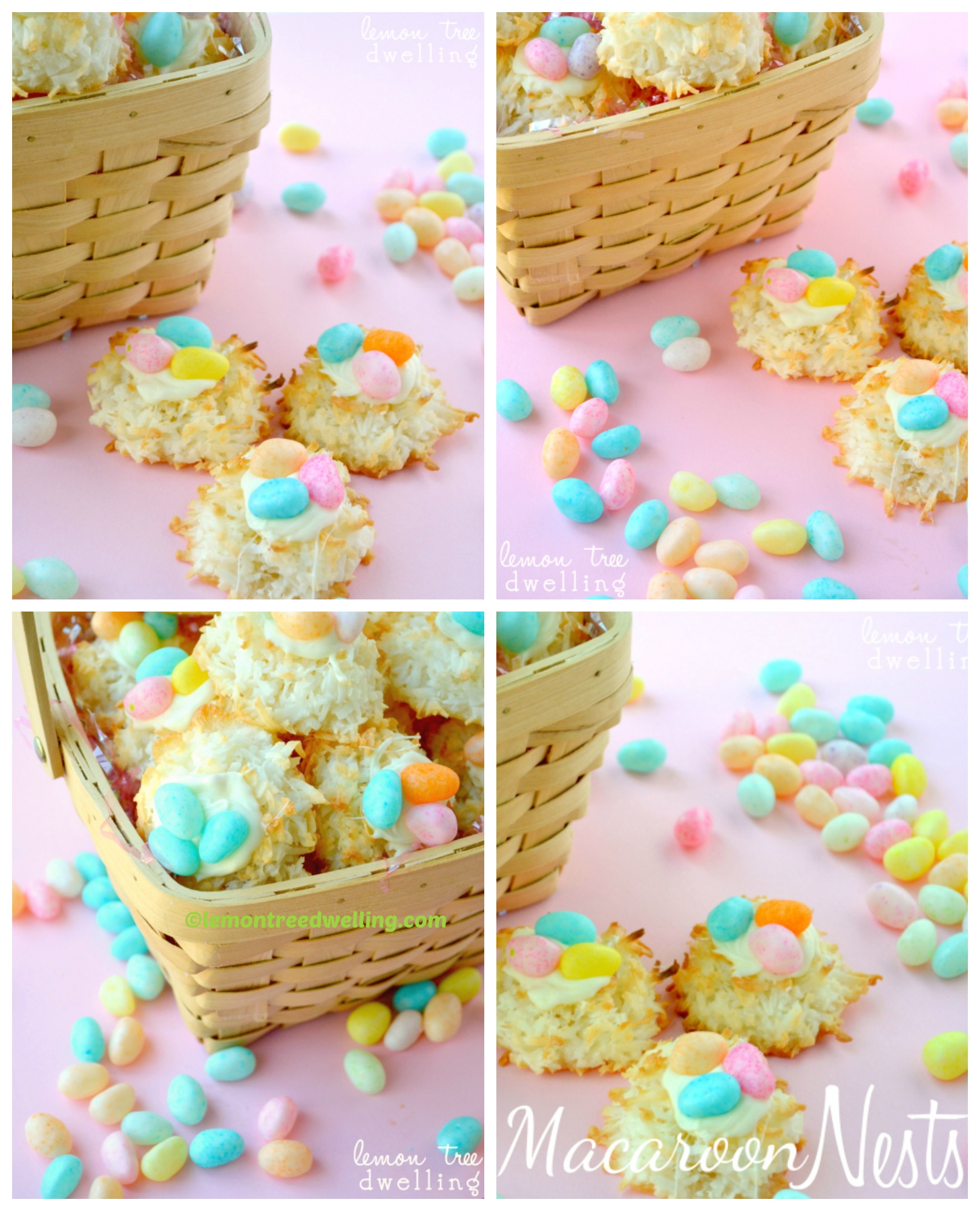 How to make Easter Macaroon Nests