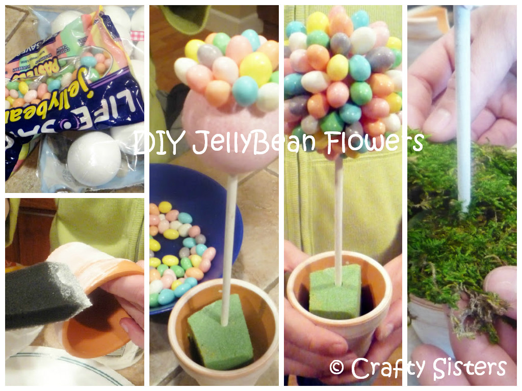 DIY Jellybean Flowers Tutorial