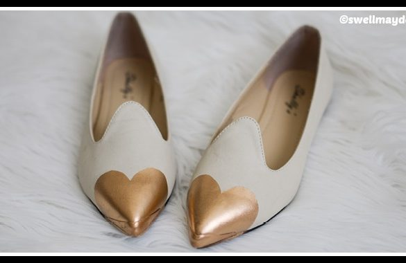 DIY Heart Flats Tutorial