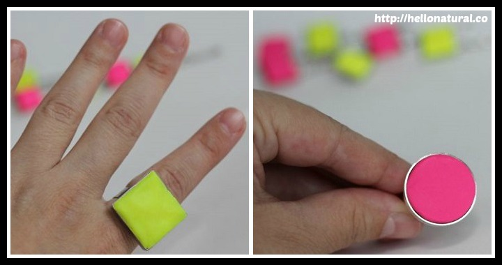 DIY Neon Ring Tutorial