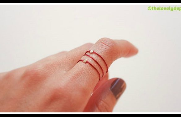 DIY Silk Stacking Rings Tutorial