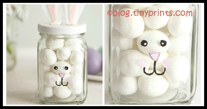 DIY Easter Bunny Jar Tutorial