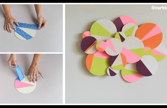 DIY 3D Geometric Wall Art Tutorial