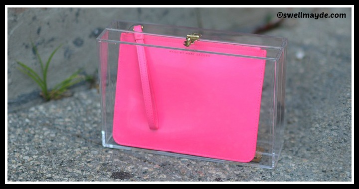 DIY Box Clear Clutch Tutorial
