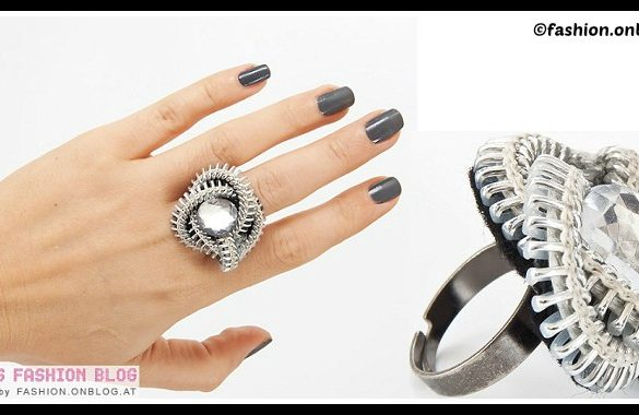 DIY Zipper Ring Tutorial