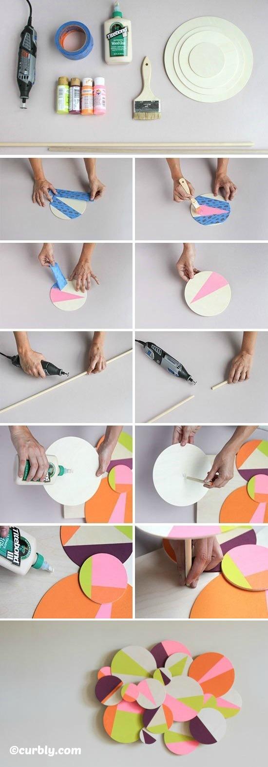 How to make 3D Geometric Wall Art