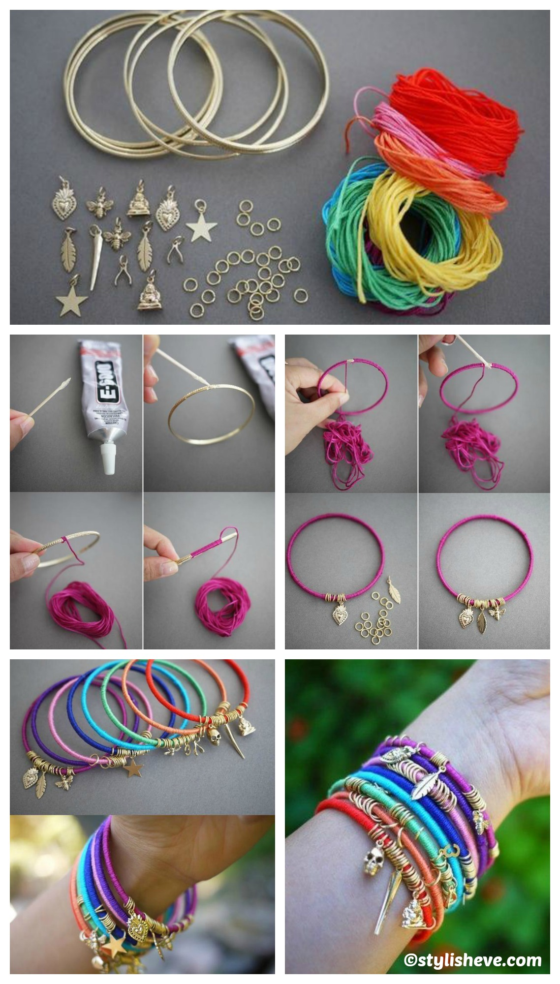 How to make an Easy DIY Summer Braclet