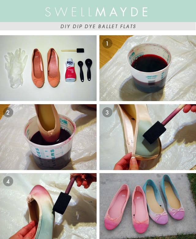 How to make Painted Ballet Shoes