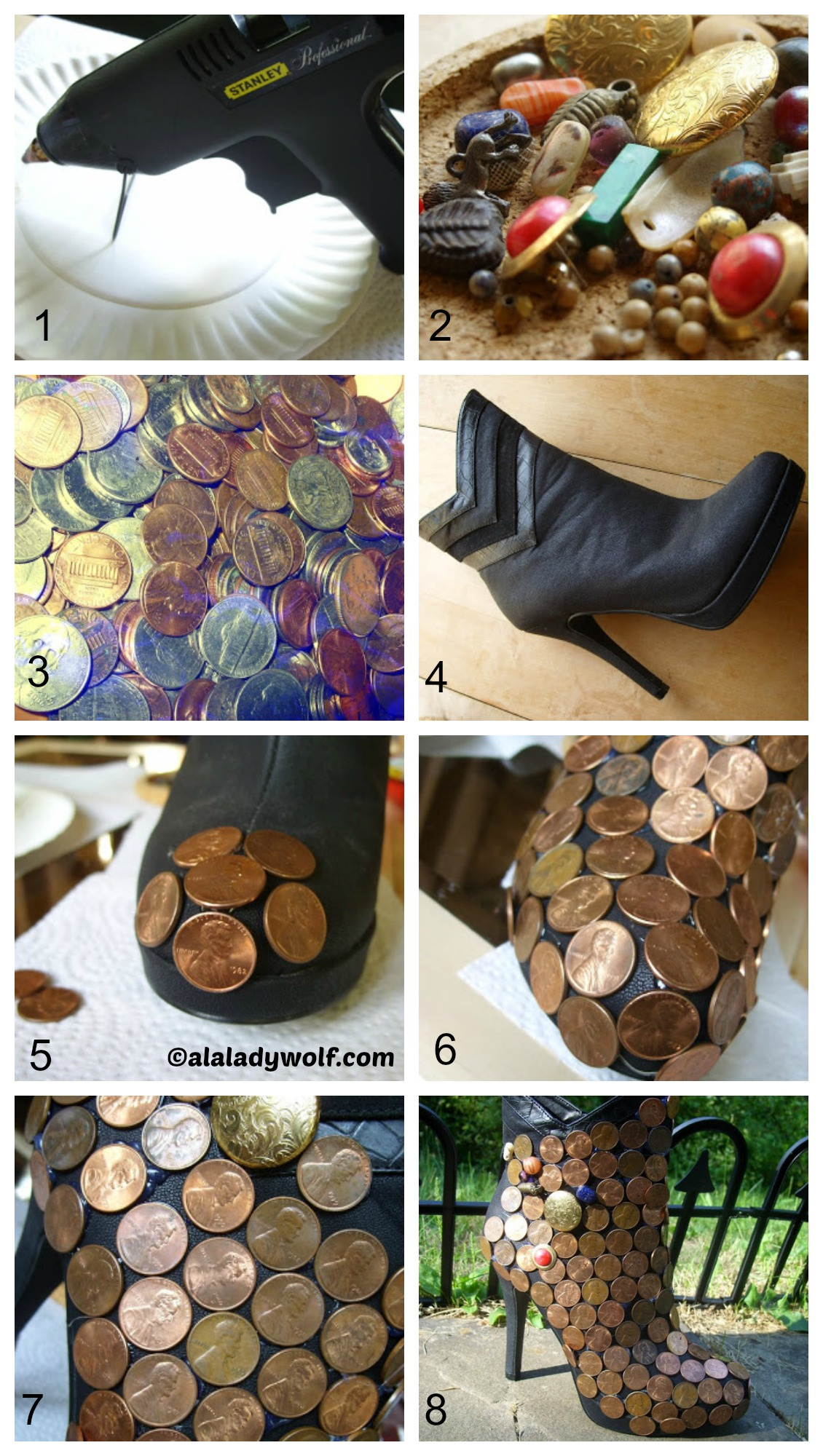 How to make Wishing Well Shoes