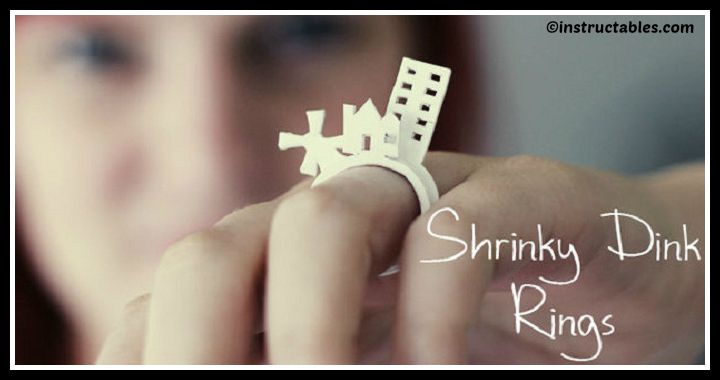 DIY Shrink Plastic 3D Ring Tutorial
