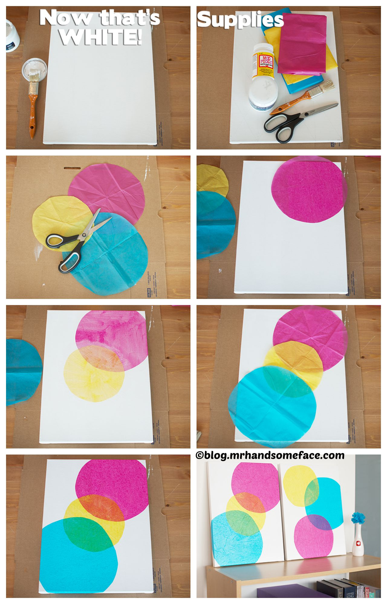 How to make Wall Art Bubbles