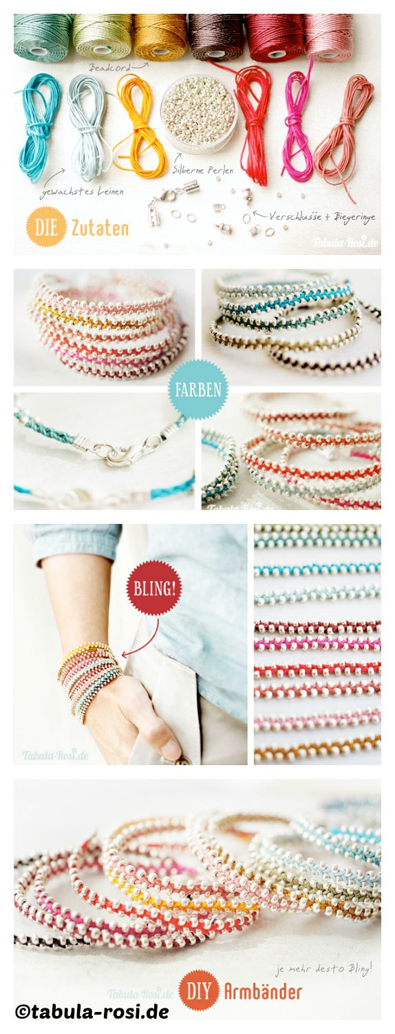How to make a Bling Bling Bracelet
