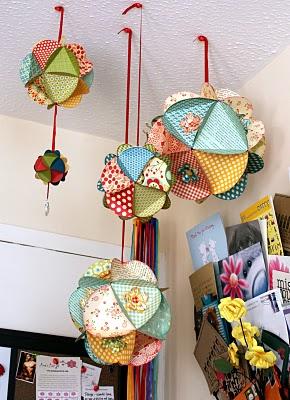 Hanging Paper Spheres