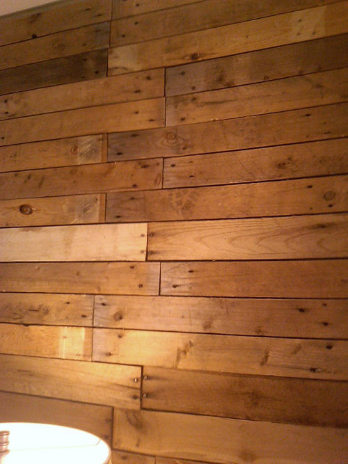 Scrap Pallet Plank Backdrop